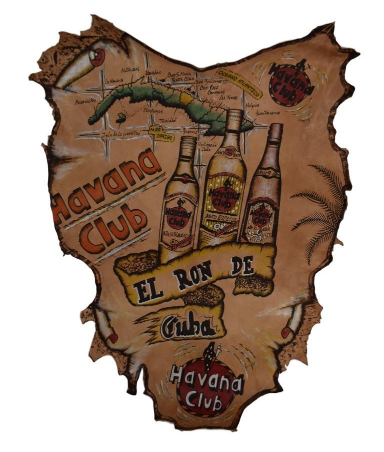 Cuadro cubano de piel